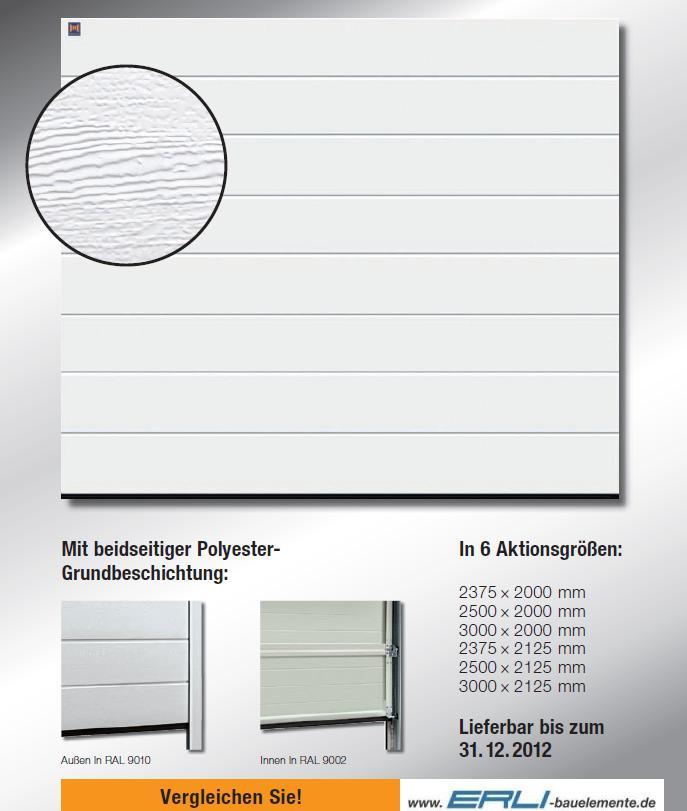 h rmann garagentor sektionaltor sectionaltor rolltor ebay. Black Bedroom Furniture Sets. Home Design Ideas